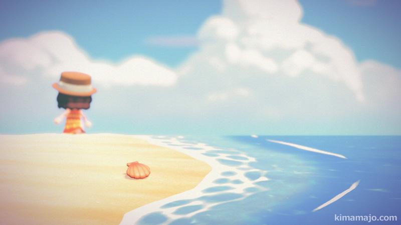 砂浜 夏の終わり