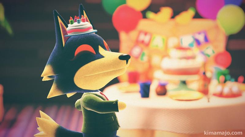 ロボ 誕生日会