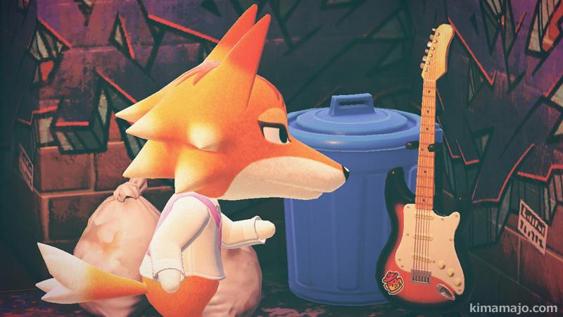 チーフ ギターをひく