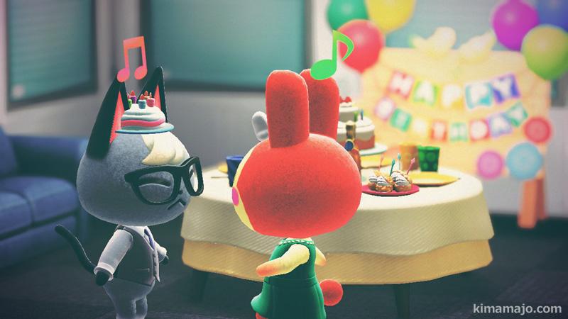 ジャックとリリアン 誕生日会