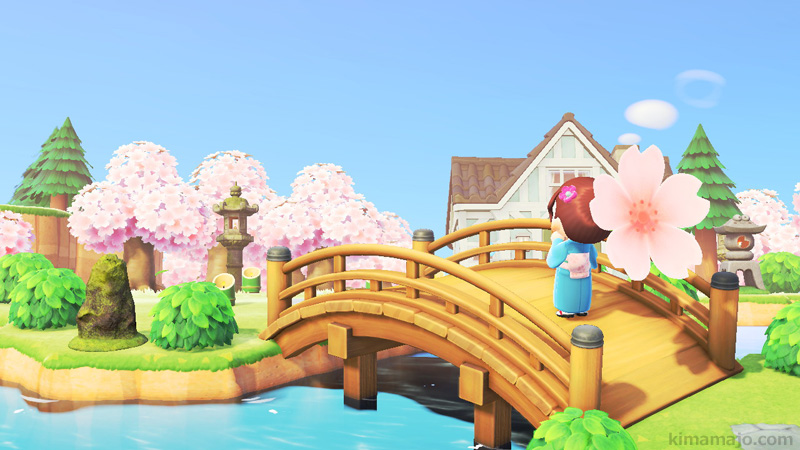 桜 わふうの橋